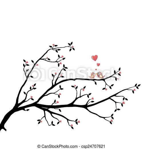 Birds in Love - csp24707621
