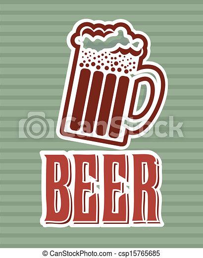 birra, etichetta - csp15765685