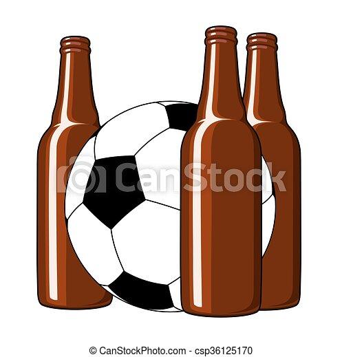 birra, football - csp36125170