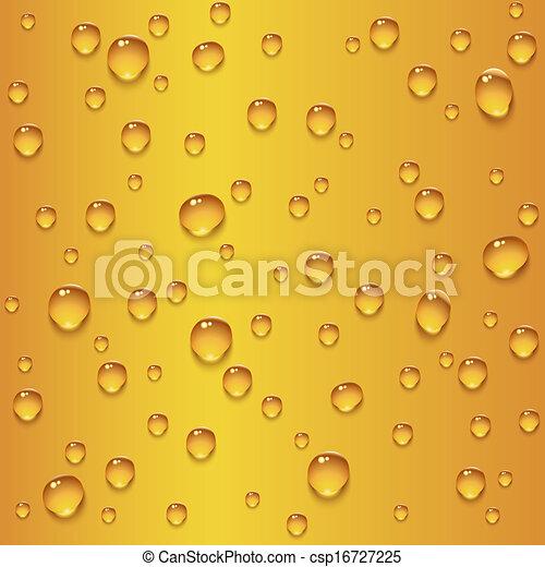 birra, gocce, seamless, struttura - csp16727225