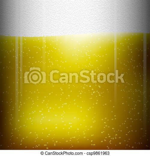 birra, struttura - csp9861963