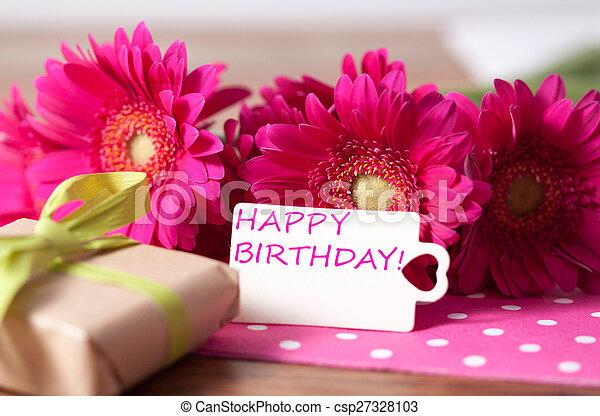 birthday, 幸せ - csp27328103