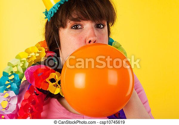 Birthday balloon - csp10745619