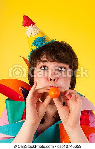 Birthday balloon - csp10745659