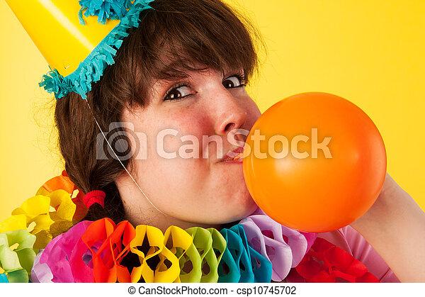 Birthday balloon - csp10745702