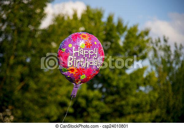 Birthday Balloon - csp24010801