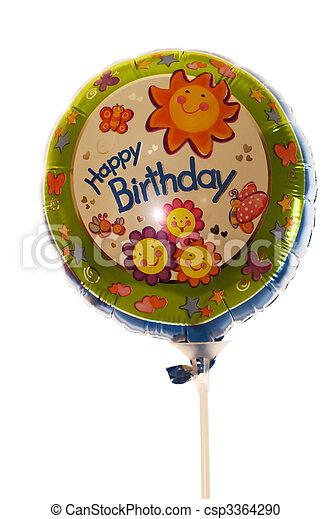 Birthday balloon - csp3364290