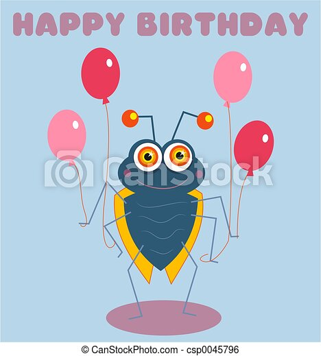 Birthday Bug - csp0045796