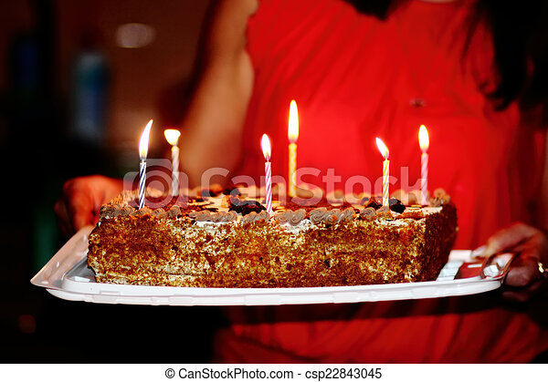 birthday cake - csp22843045