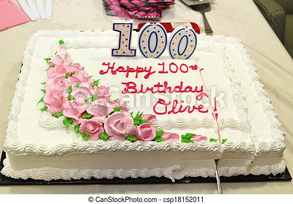 Awesome Birthday Cake For A 100 Year Old Decorated Birthday Cake For A Funny Birthday Cards Online Aboleapandamsfinfo