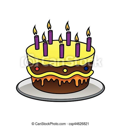 birthday cake - csp44626821