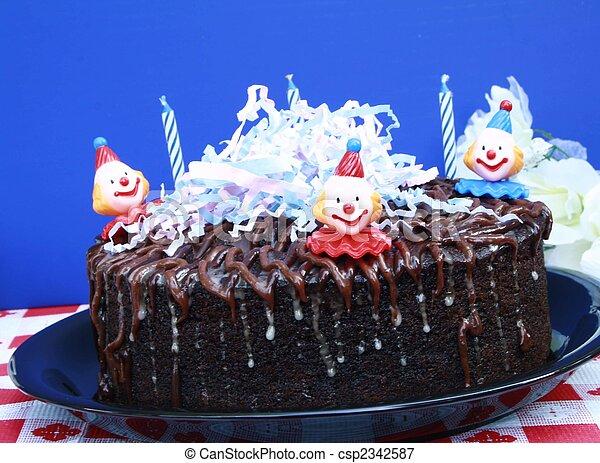 Birthday cake  - csp2342587