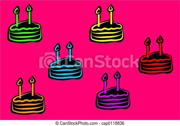 birthday cake - csp0118836
