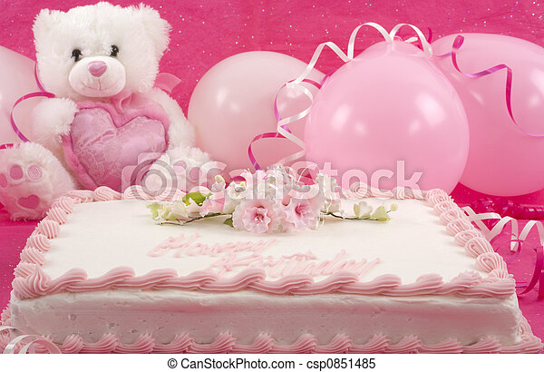 Birthday Cake Delicious Beautifully Decorated Bithday Teddy