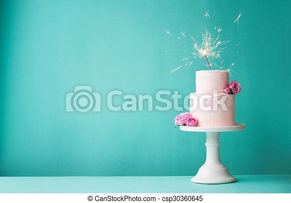 Birthday cake - csp30360645