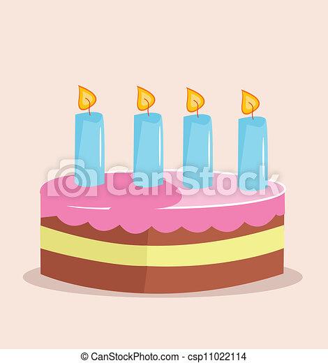 Birthday cake - csp11022114