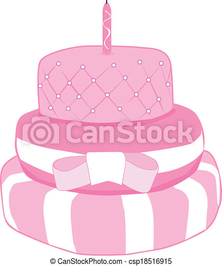 Birthday cake vector clip art Search Illustration Drawings and