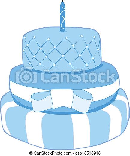 Birthday cake - csp18516918