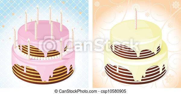 birthday cake - csp10580905
