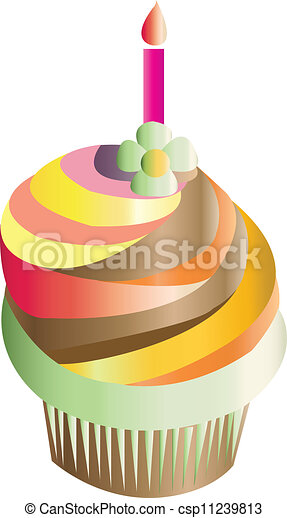 Birthday cake vector vector clip art Search Illustration Drawings