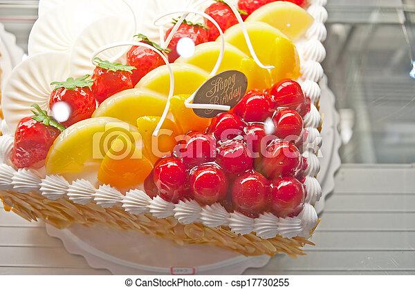 Birthday Cakes Pastries Design