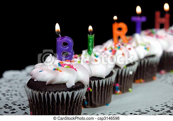 Birthday Cakes - csp3146598