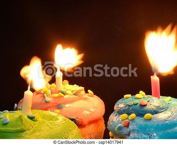 Birthday Candles - csp14017941