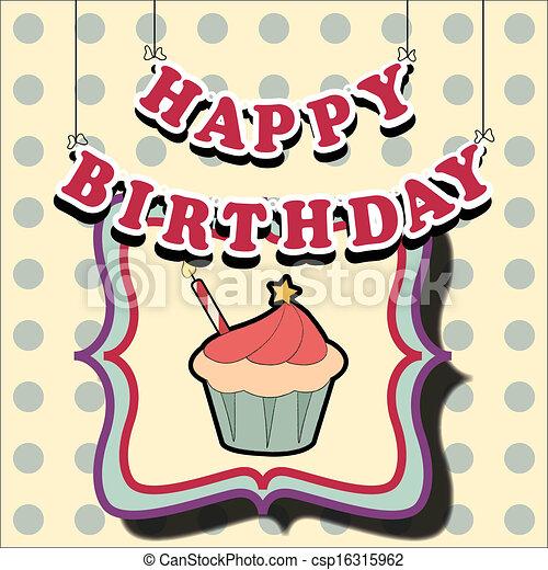 birthday card - csp16315962
