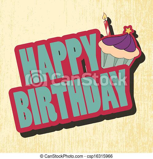 birthday card - csp16315966