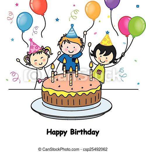 birthday card - csp25492062