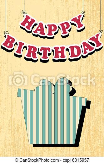 birthday card - csp16315957