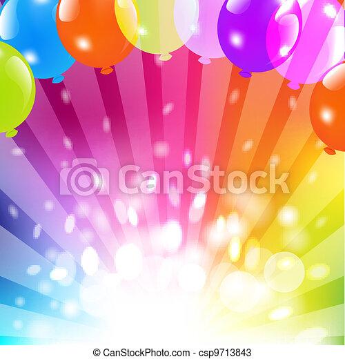 Birthday Card - csp9713843