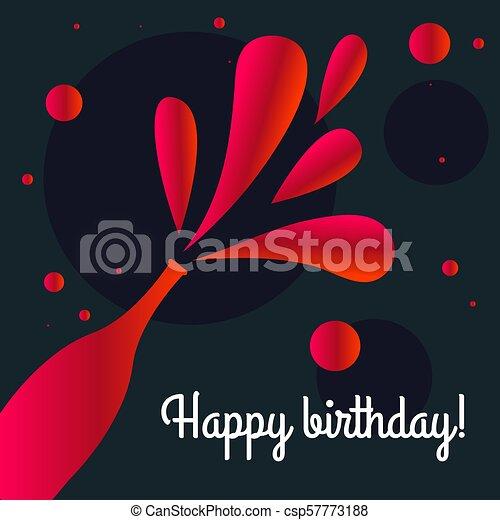 Birthday Card Event Invitation