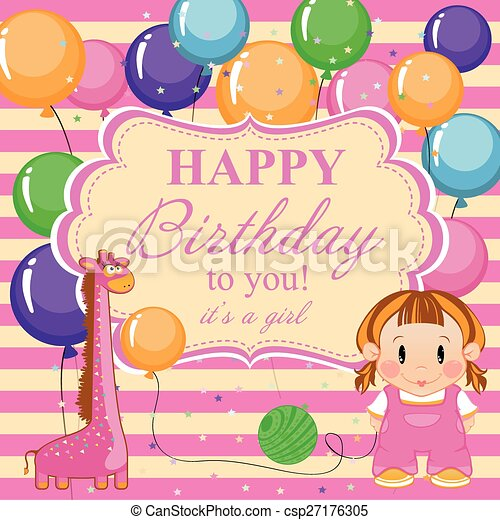 Birthday Card For Boy Happy Birthday Little Funny Boy With Toys And