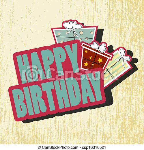 birthday card - csp16316521