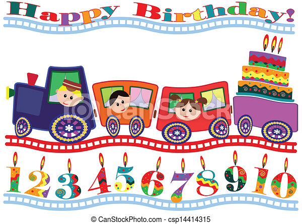 Birthday card - csp14414315