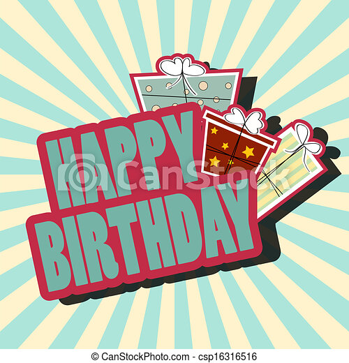 birthday card - csp16316516