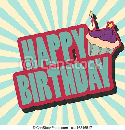 birthday card - csp16316517