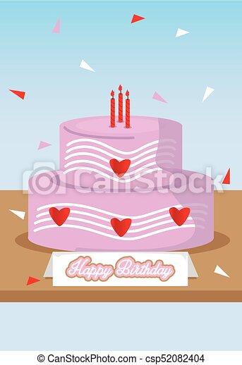 Birthday Card - csp52082404