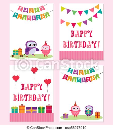 Birthday Cards With In Pink Color