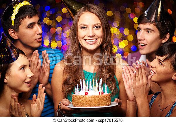 Birthday celebration - csp17015578