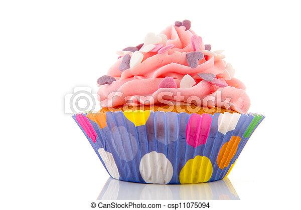Birthday cupcake - csp11075094