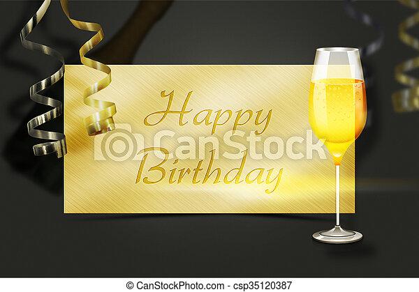 Geburtstag Hintergrund Elegant