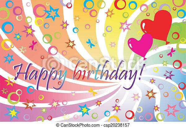 ¡Feliz cumpleaños! - csp20238157