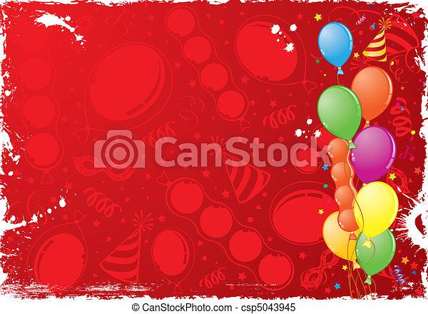 Birthday Frame - csp5043945