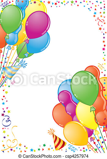 Birthday Frame - csp4257974