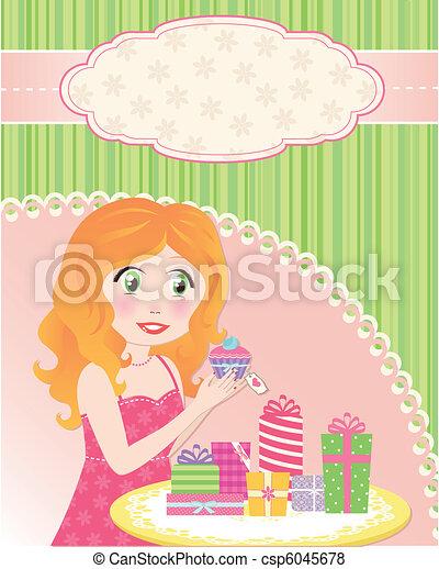 birthday girl - csp6045678