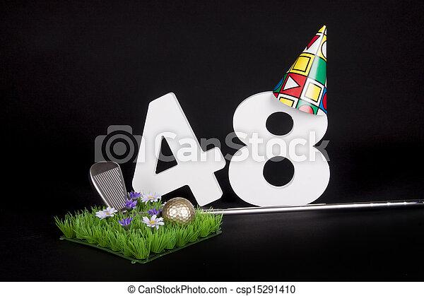 Birthday Golf - csp15291410