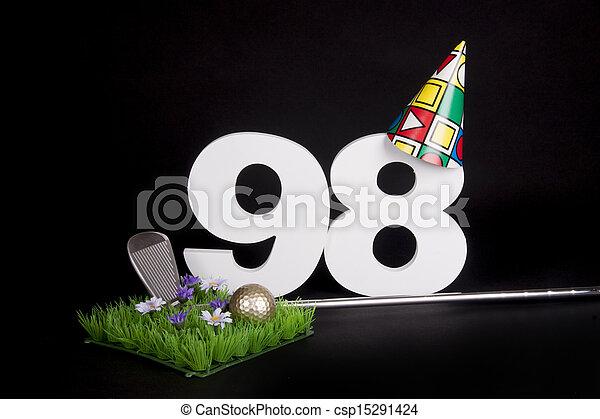 Birthday Golf - csp15291424