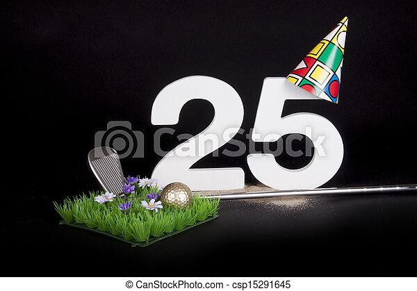 Birthday Golf - csp15291645